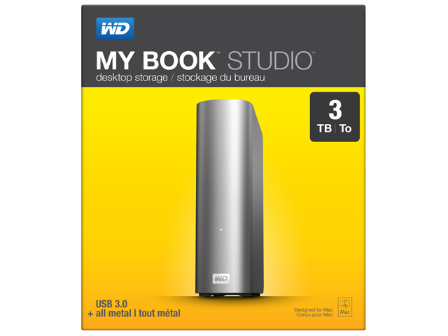 My Book Studio パッケージ(3TB)