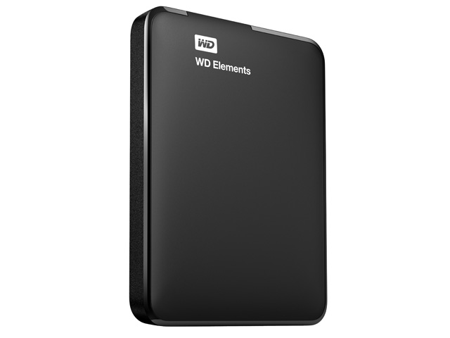 WD Elements Portable 斜め/縦置き(500GB、1TB)