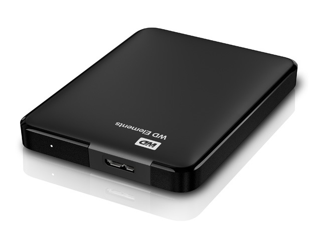 WD Elements Portable 斜め/横置き(500GB、1TB)