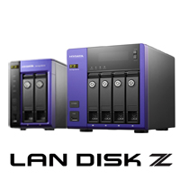Windows Storage Server 2016搭載LAN DISK Z SSDモデル