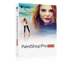 写真編集ソフトPaintShop Pro Essentials