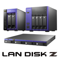 Windows Storage Server 2016搭載 LAN DISK Zシリーズ