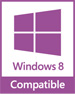 Windows 8 Compatible ロゴ