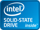 intel SOLID-STATE DRIVE ロゴ