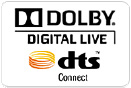 Dolby Digital LiveとDTS Connect