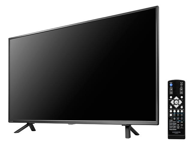 LCD-M4K551EQB 液晶とリモコン/左振り斜め