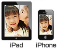 iPad、iPhone