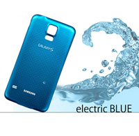 GALAXY S5がelectric BLUEに変身!