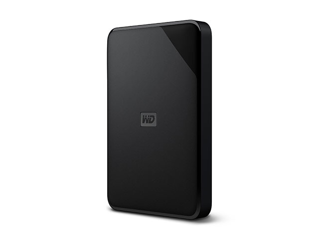 WD Elements SE Portable 斜め/縦置き左振り(1TB)