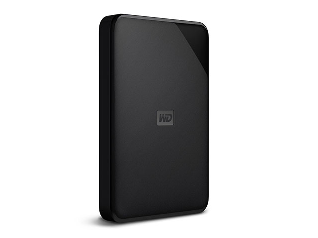 WD Elements SE Portable 斜め/縦置き右振り(1TB)