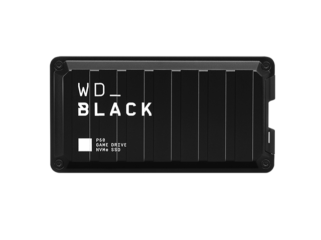 WD_Black P50 Game Drive SSD 正面